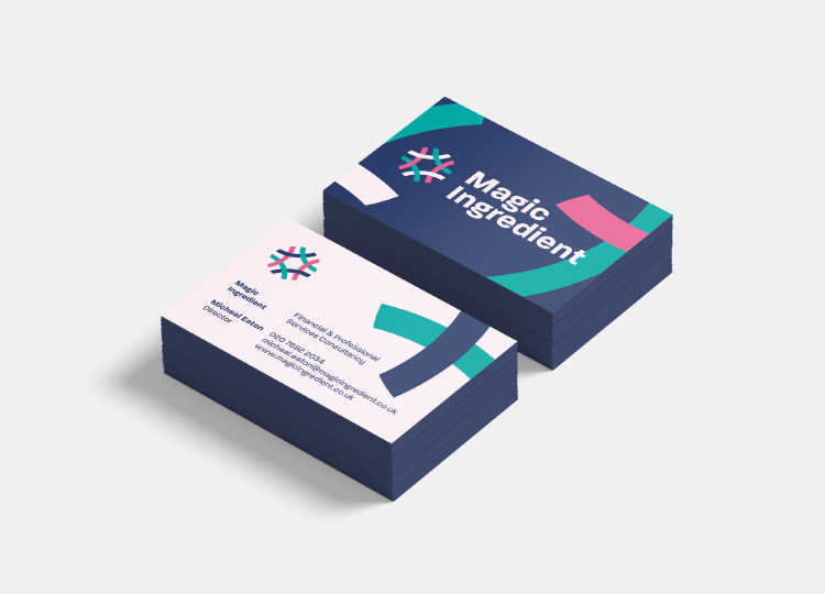 Magic Ingredient Business Cards
